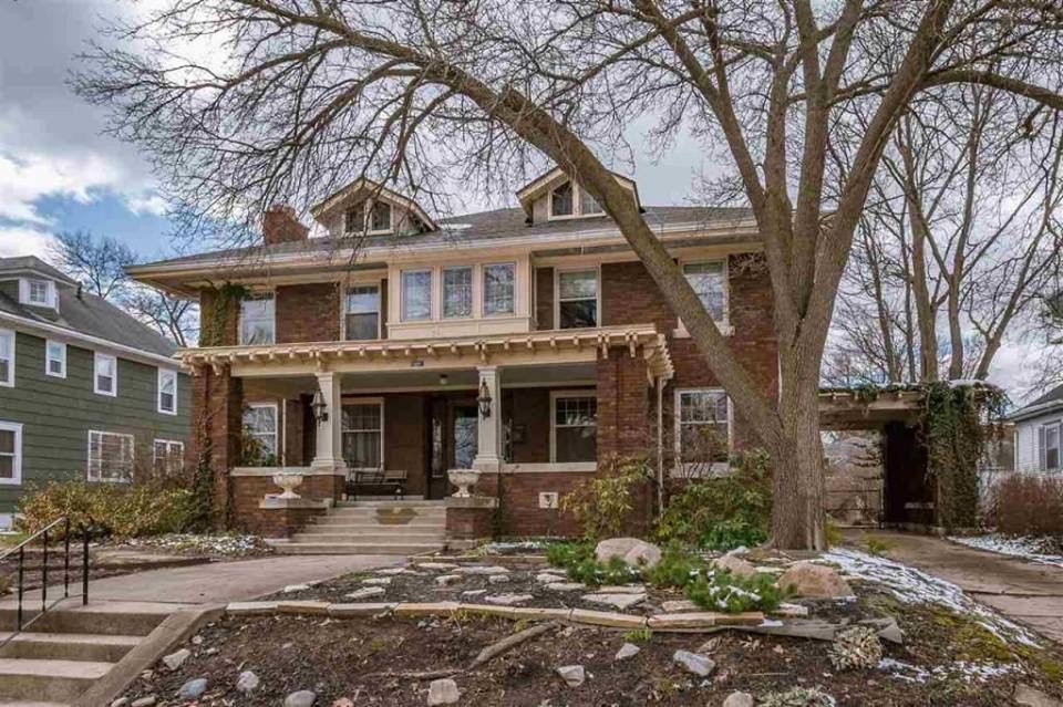 1912 Historic Brick House In South Bend Indiana
