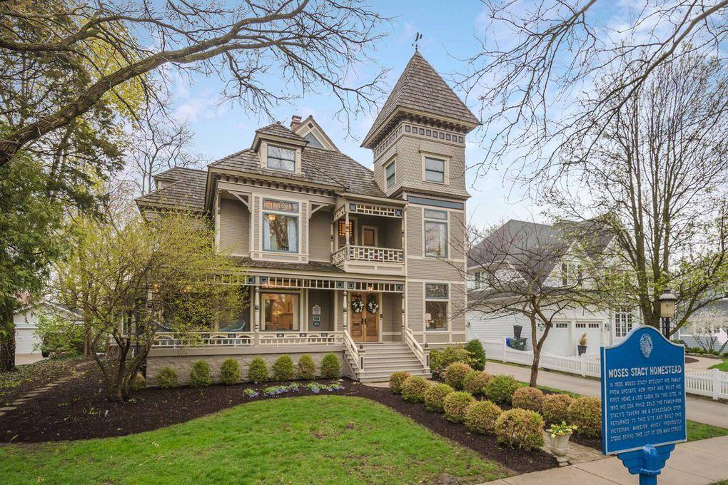 1893 Stacey Mansion In Glen Ellyn Illinois