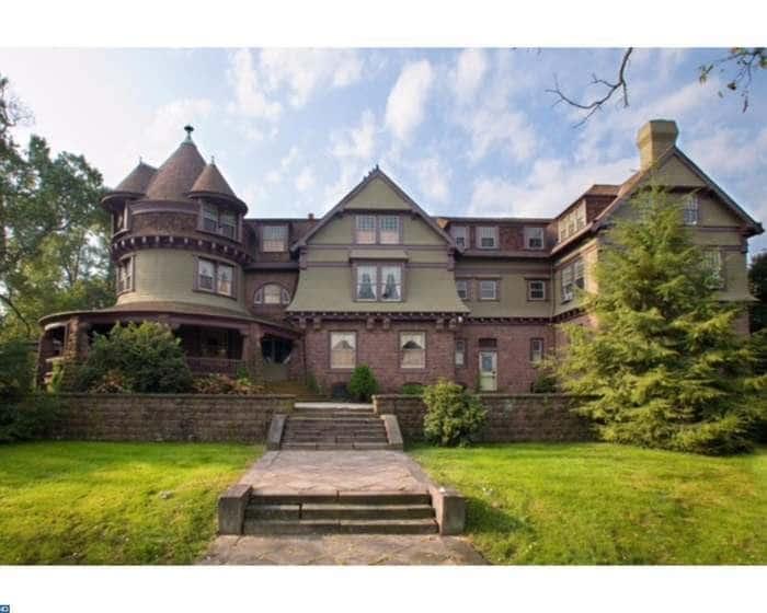 1887 The Brooke Mansion In Birdsboro Pennsylvania