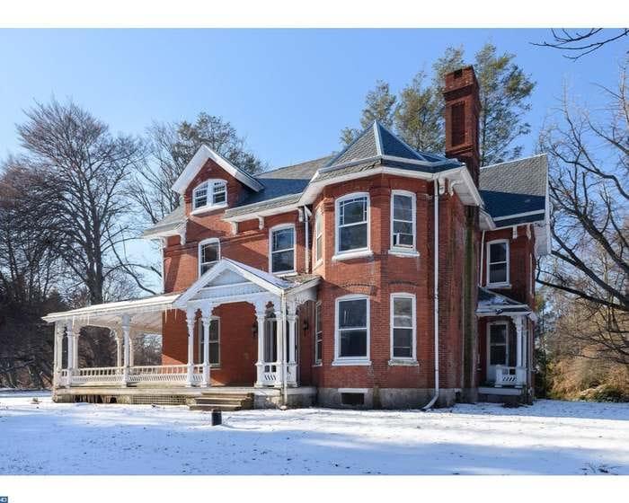 Pennsylvania 1886 Brick Victorian Farmhouse