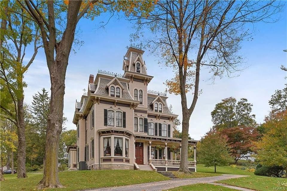 1877 Theodore Carpenter House In New York