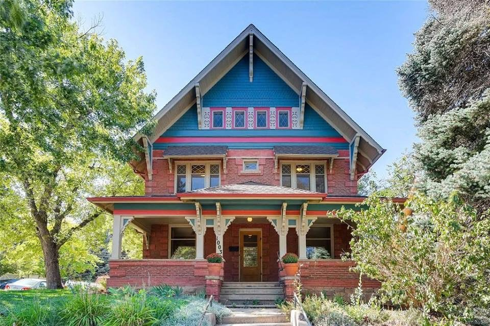 1899 Charming Historic Craftsman In Boulder Colorado