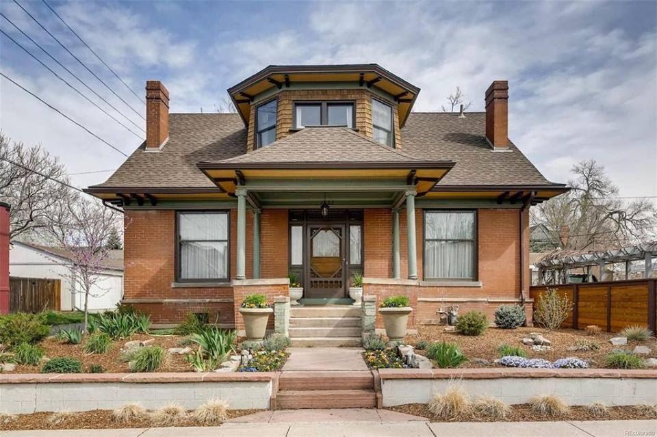 1900 Historic Brick House In Denver Colorado