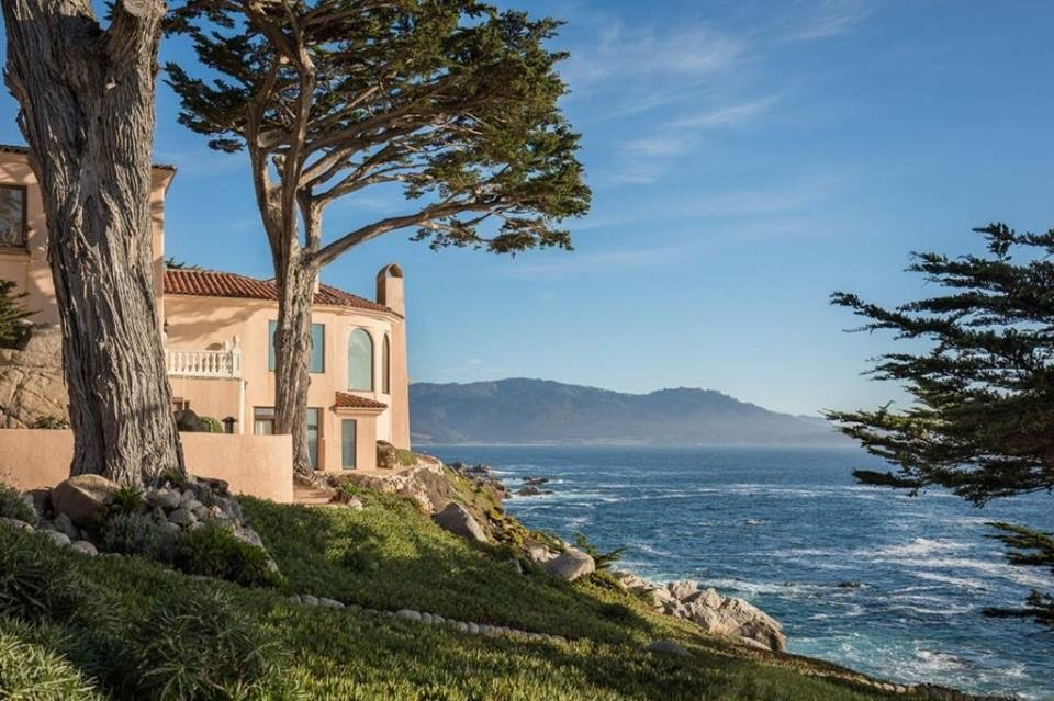 1924 Villa Eden Del Mar In Pebble Beach California