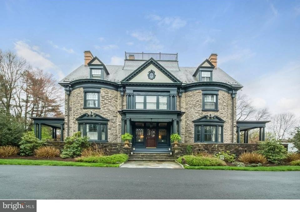 1895 Stone Mansion In Philadelphia Pennsylvania