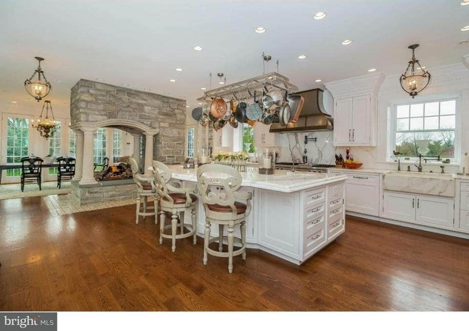 1895 Stone Mansion For Sale In Philadelphia Pennsylvania