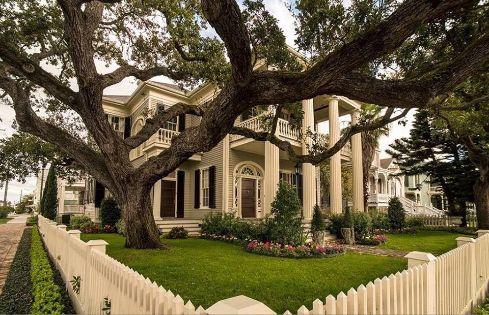 1868 Greek Revival In Galveston Texas