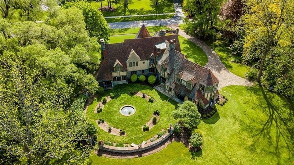 1920 Stone French Country Manor In Pittsford New York