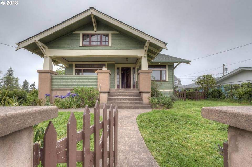 1925 Craftsman For Sale In Astoria Oregon