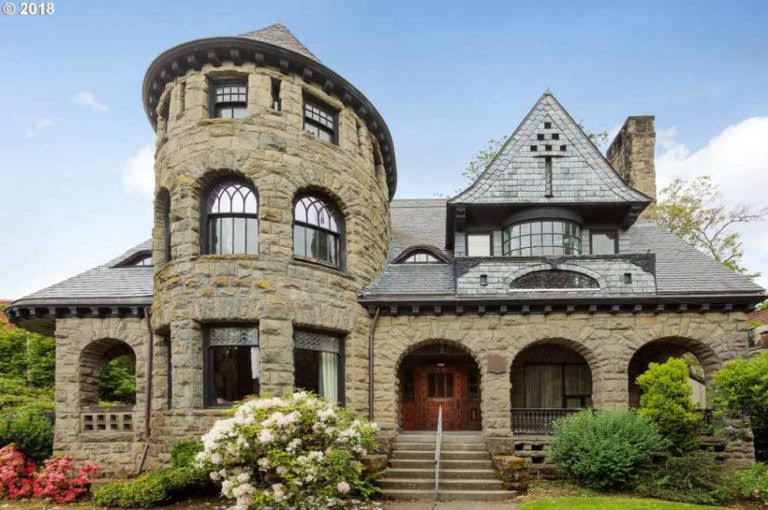 1892 Stone House In Portland Oregon