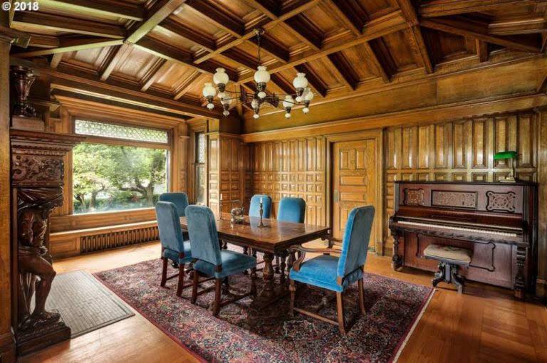 1892 Historic Stone House For Sale In Portland Oregon