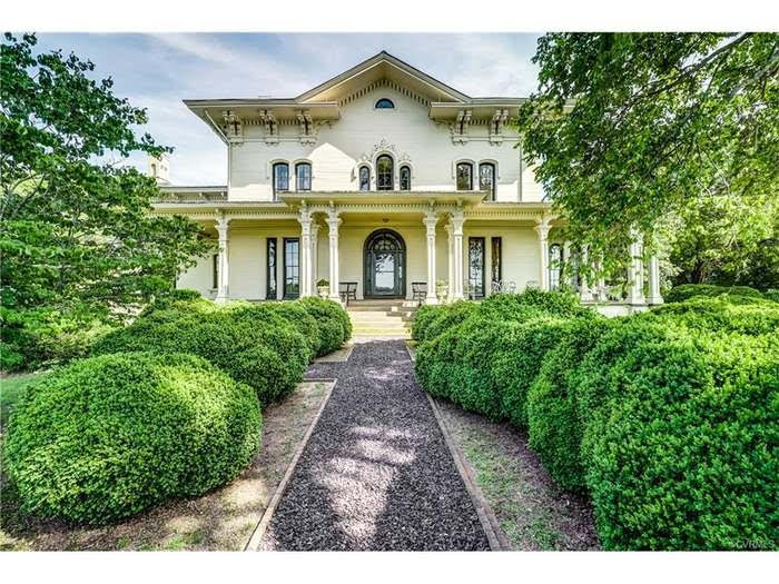 1857 Historic Italianate Camden Farm For Sale In Port Royal Virginia