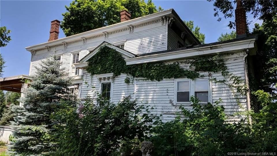 1870 Italianate Fixer Upper For Sale In Jeffersonville Indiana