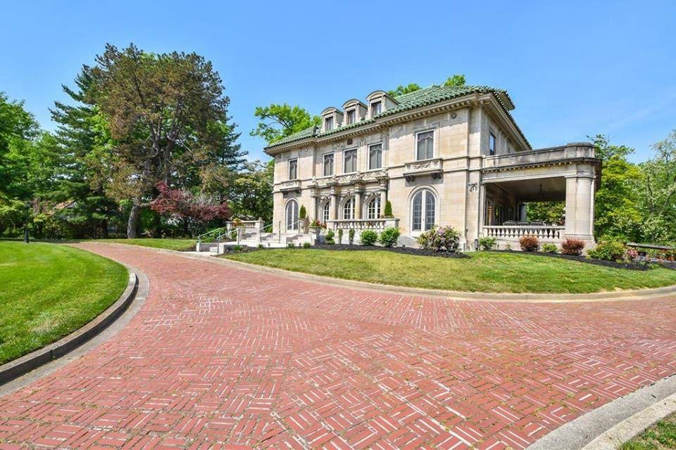 1910 Historic May House Mansion For Sale In Cincinnati Ohio