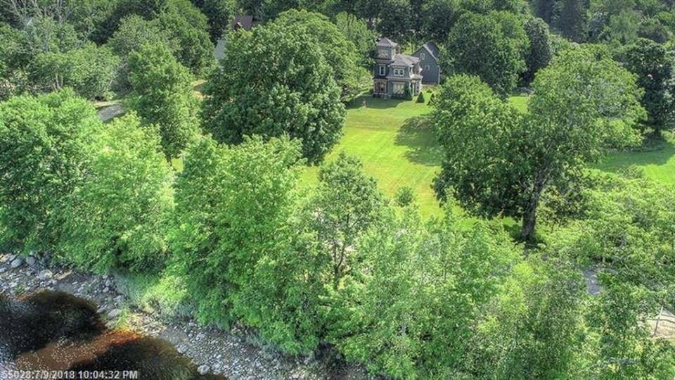 1875 Arthur Willey House For Sale In Cherryfield, Maine