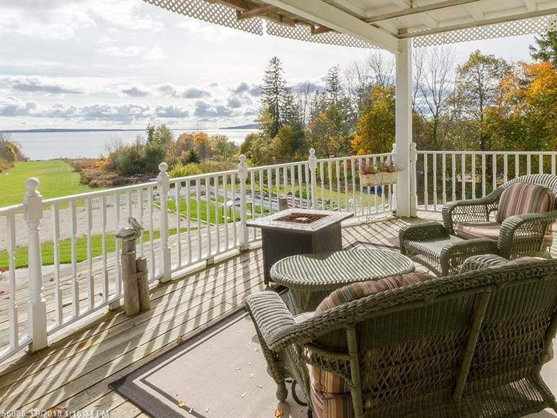 1874 Bed And Breakfast For Sale In Searsport Maine
