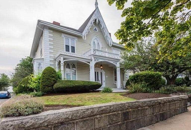 1851 Gothic Revival In Salem Massachusetts