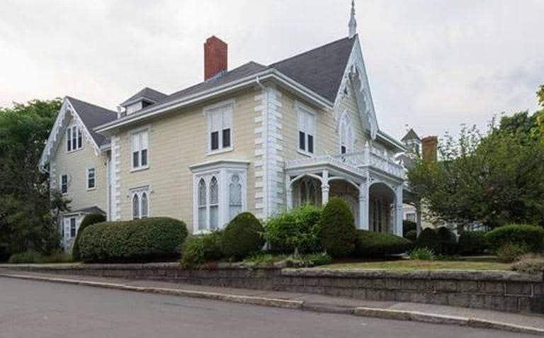 1851 Gothic House For Sale In Salem Massachusetts