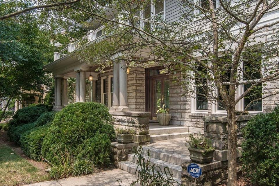 1928 Stone House For Sale In Nashville Tennessee