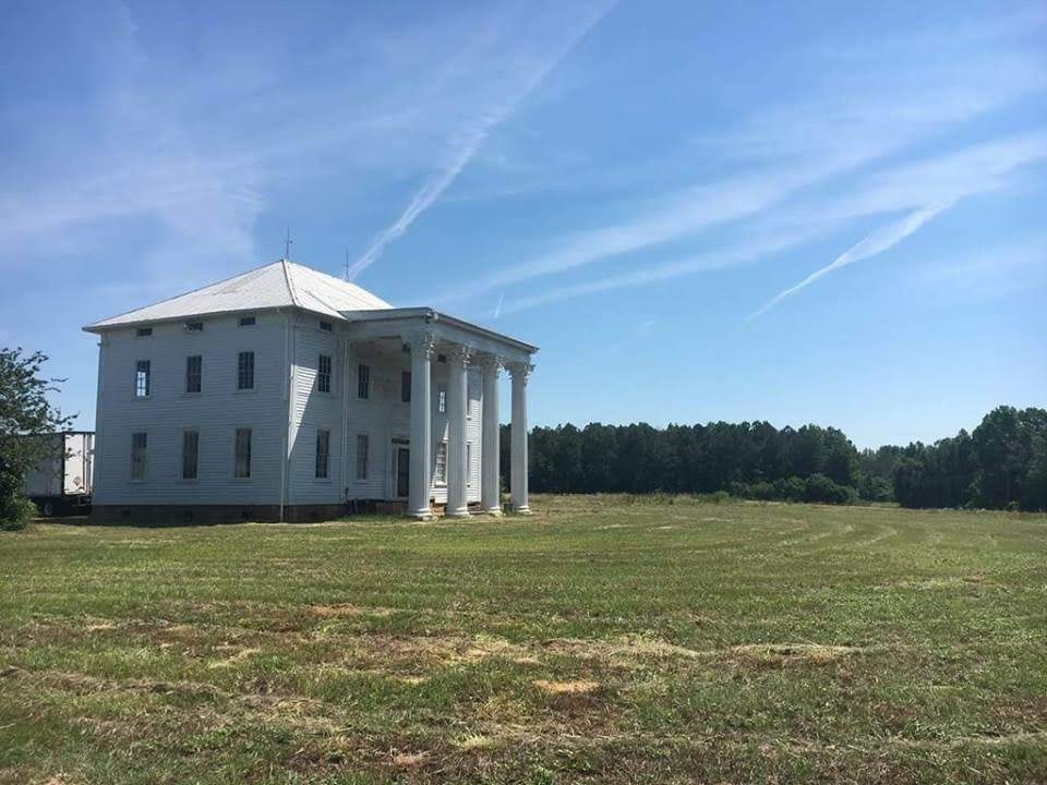 1837 Plantation On 156 Acres For Sale In Magnolia North Carolina