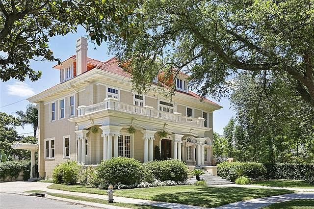 1912 Mansion In New Orleans Louisiana