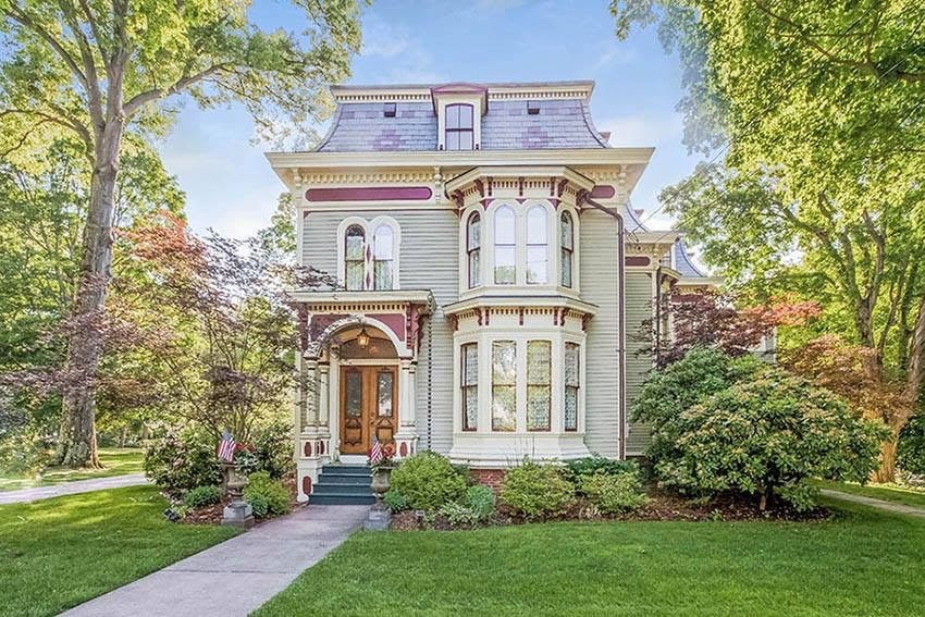 1876 Second Empire For Sale In Glastonbury Connecticut