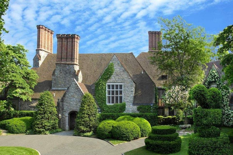 1927 Tudor Mansion In Greenwich Connecticut