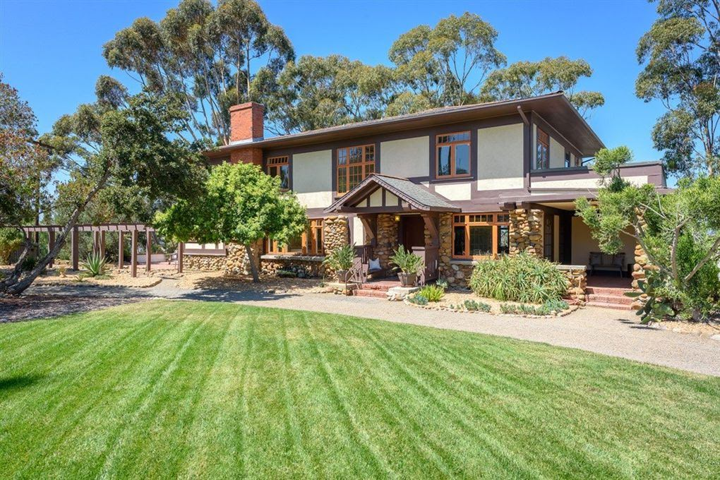 1908 Craftsman Style Home In San Diego California