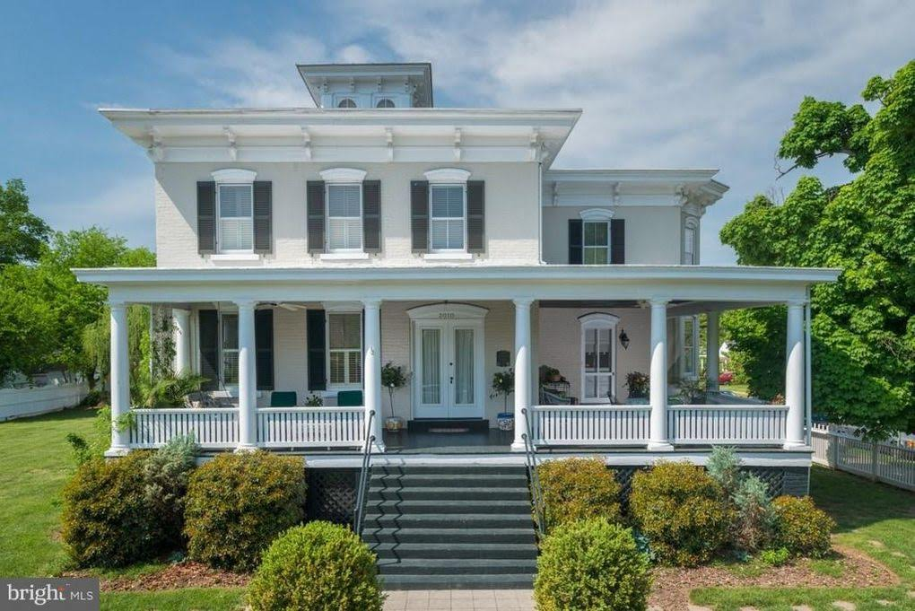 1871 Italianate For Sale In Fredericksburg Virginia