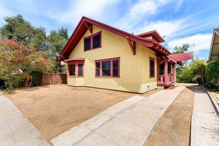 1908 Craftsman Style House For Sale In San Diego California