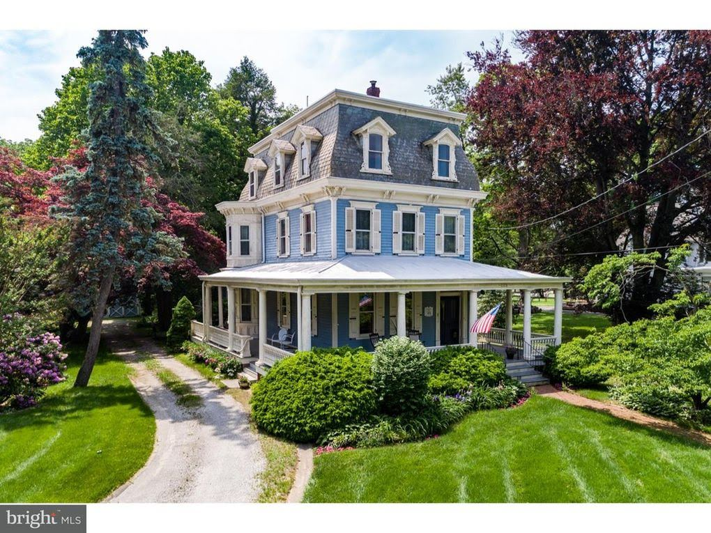 1880 Second Empire In Moorestown New Jersey