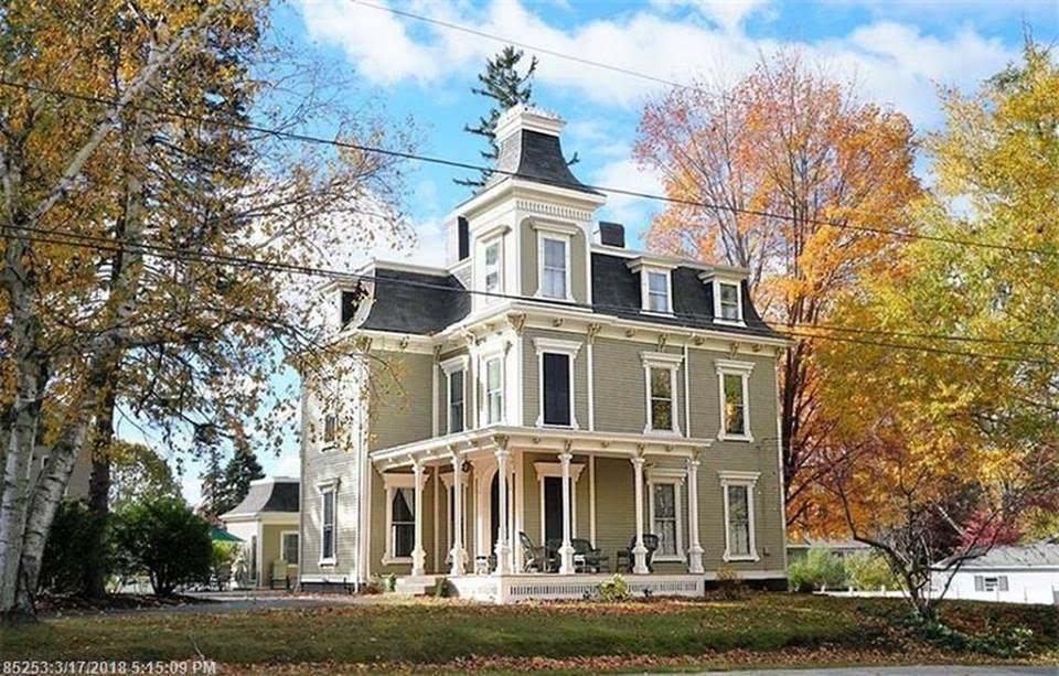1865 Second Empire In Portland Maine