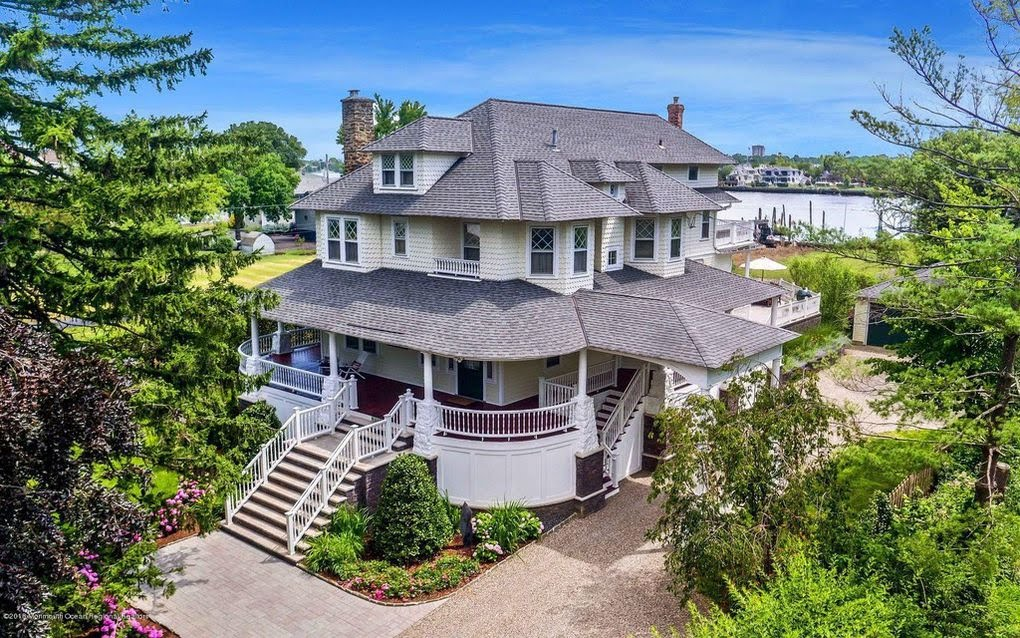 1906 Historic Waterfront Home In Oceanport New Jersey