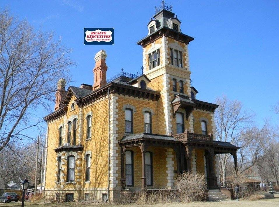 1880 Lebold Mansion In Abilene Kansas
