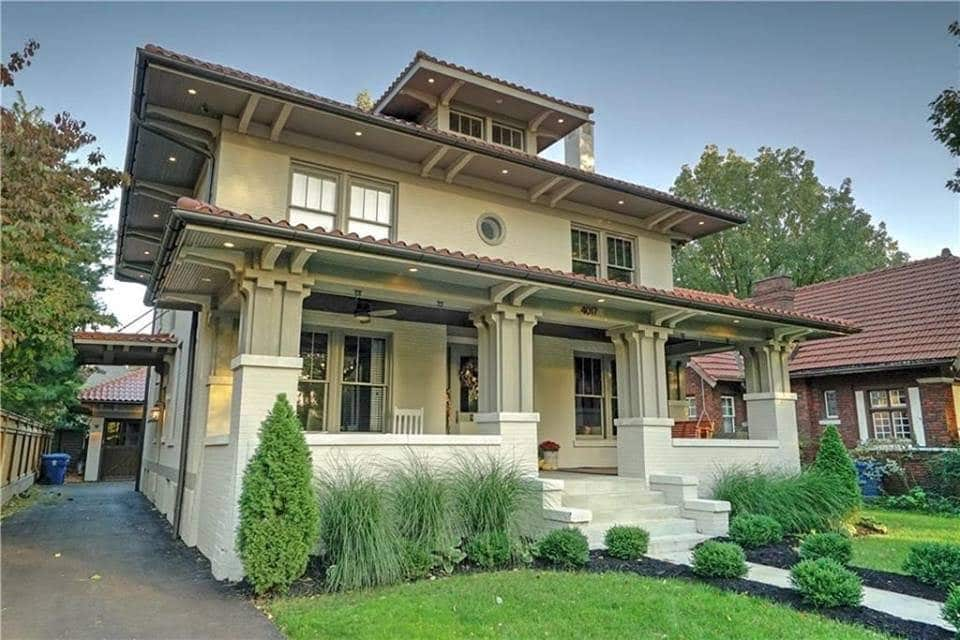 1919 Craftsman In Indianapolis Indiana