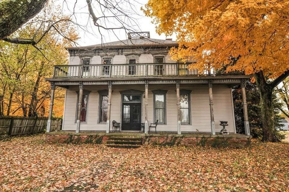 1838 Washburn Home For Sale In New Richmond Indiana