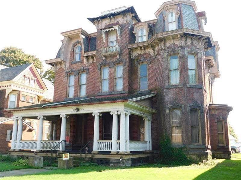 1881 Second Empire In Greenville Pennsylvania