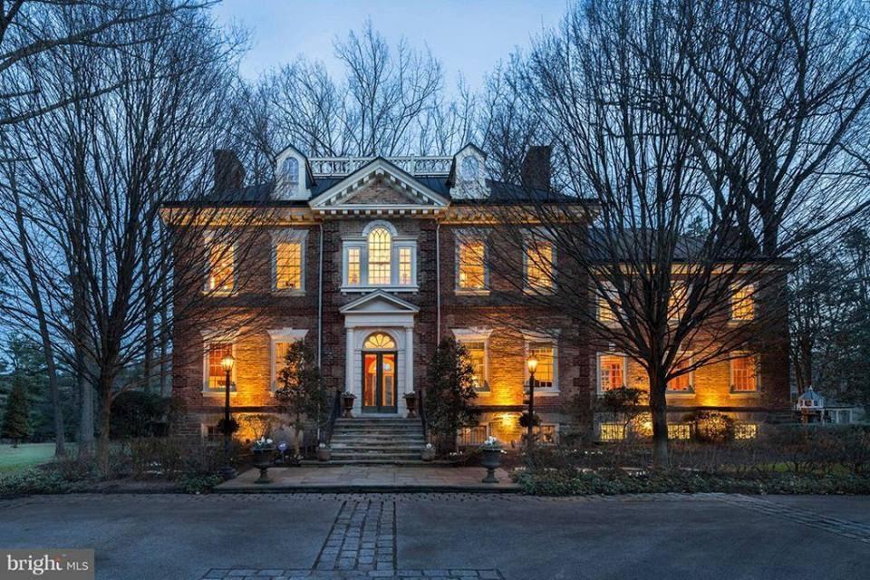 1935 Georgian Manor In Fort Washington Pennsylvania