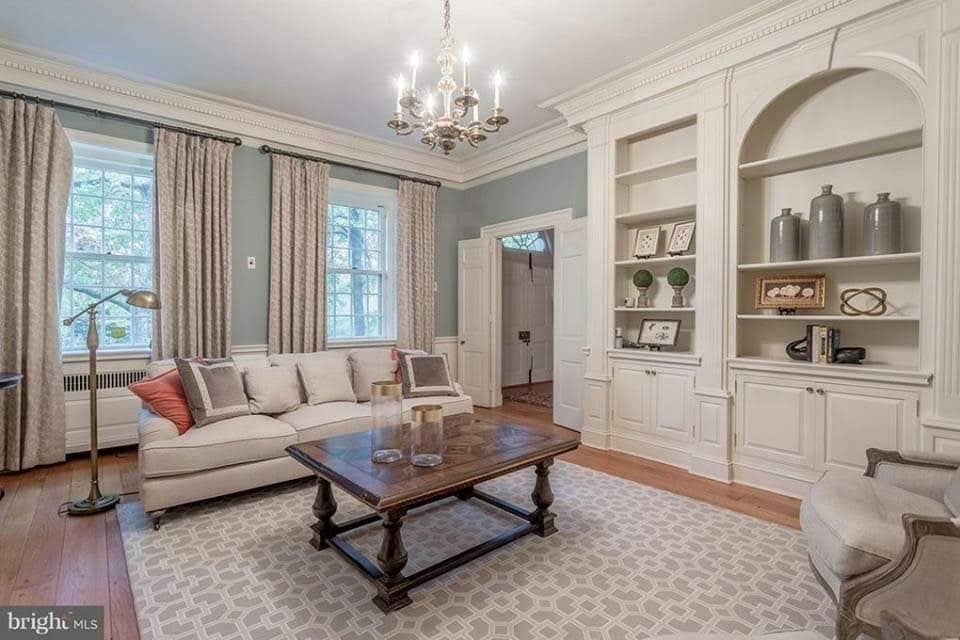 1935 Georgian Manor For Sale In Fort Washington Pennsylvania