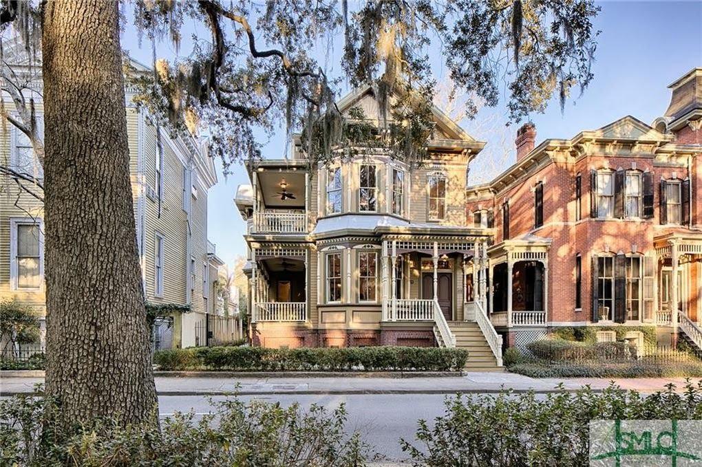1895 Crowther Mansion In Savannah Georgia