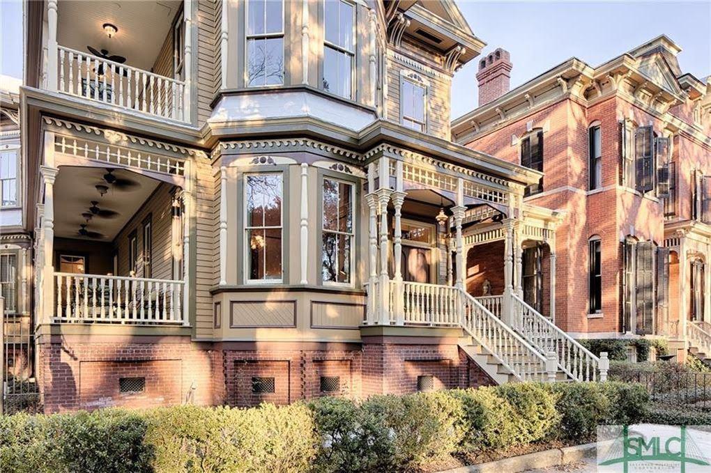 1895 Victorian For Sale In Savannah Georgia