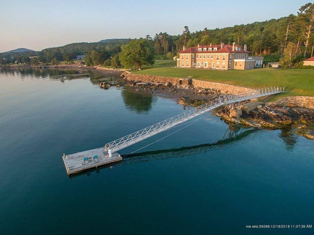 1907 Mansion On 9 Acres In Bar Harbor Maine