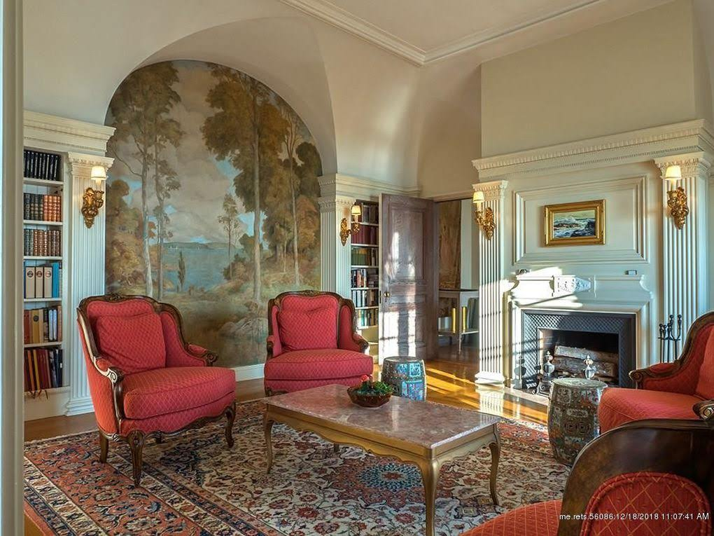 1907 Mansion On 9 Acres For Sale In Bar Harbor Maine