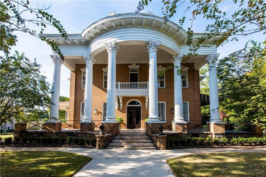 1913 Neoclassical House In Opelika Alabama
