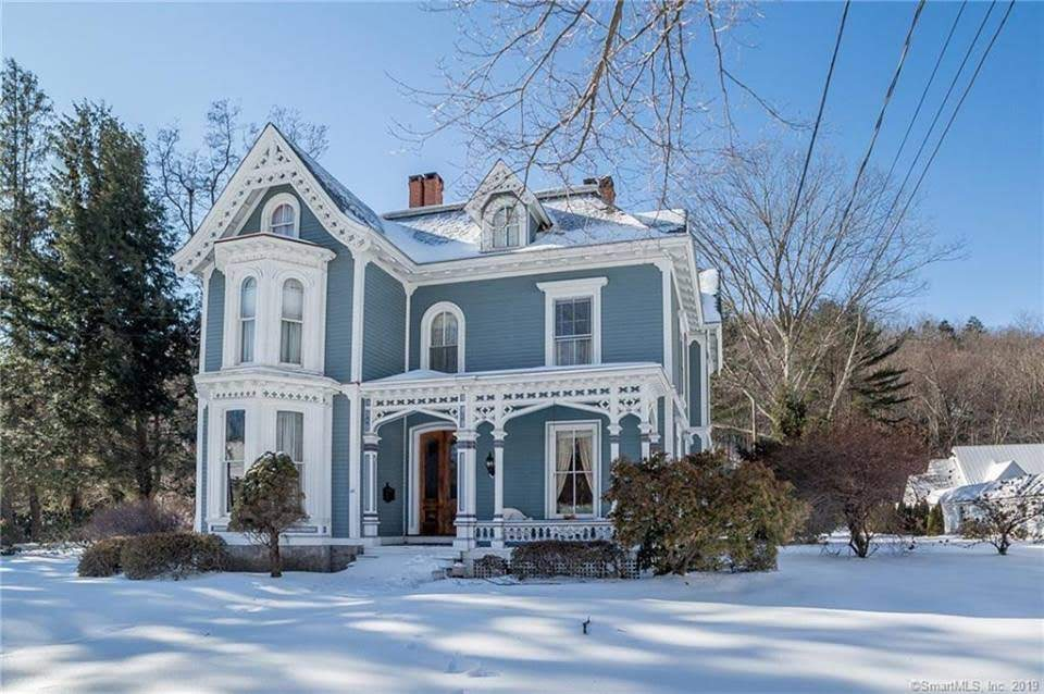 1871 Edward Chapin House In New Hartford Connecticut