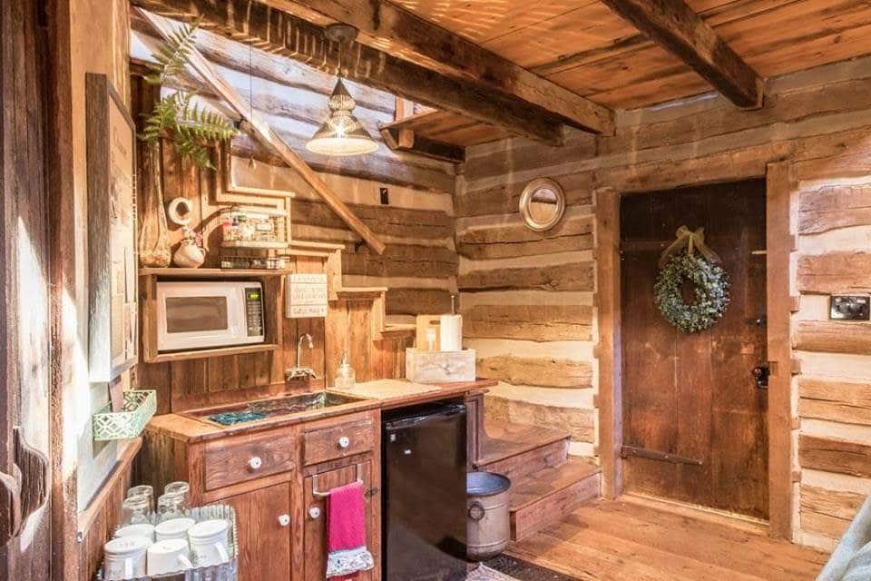 1800s Log Cabin For Sale In Fredericksburg Texas