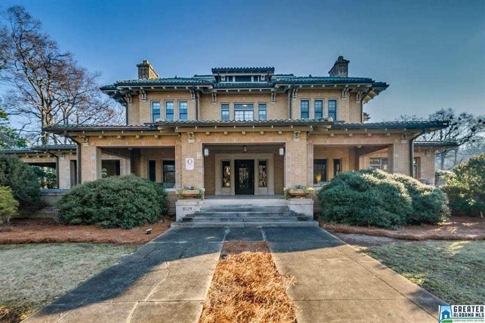 1913 Mansion In Birmingham Alabama