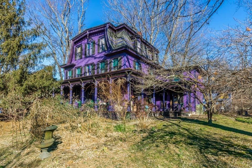 1870 Second Empire In Frenchtown New Jersey