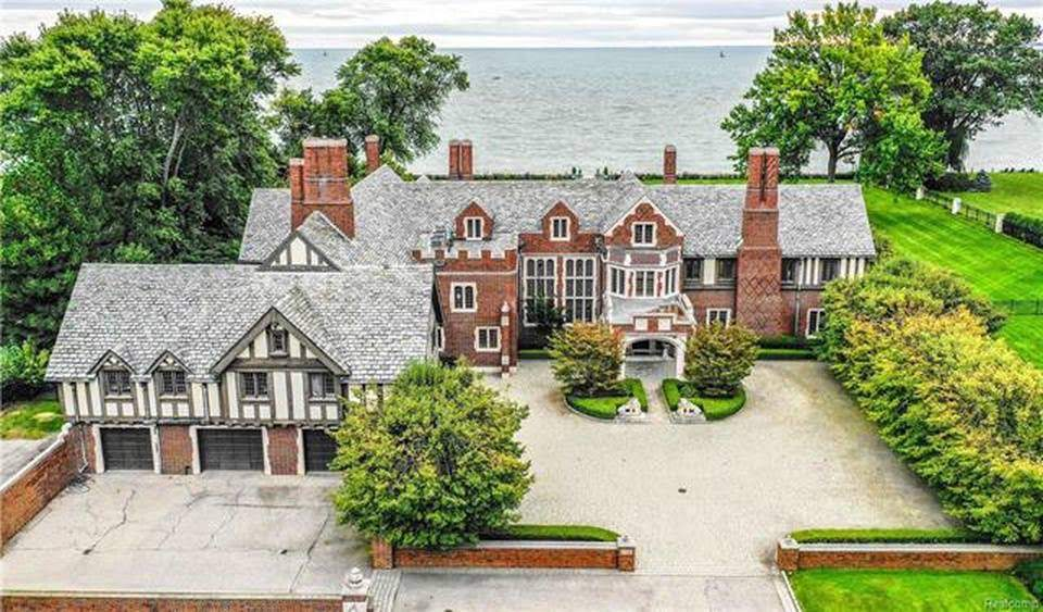 1927 Mansion In Grosse Pointe Park Michigan