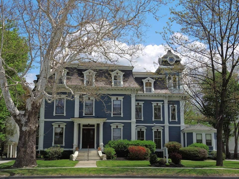 1869 Second Empire In Rutland Vermont
